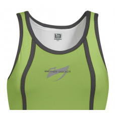 B528 Eastside Mesh Tank Green