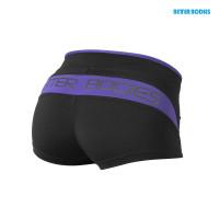B690 SHAPED HOTPANT,Black/athletic purple