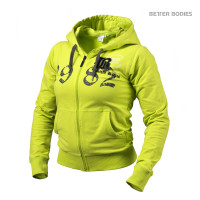 B734 FITTED SOFT HOODIE LIME