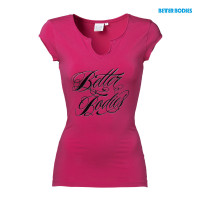 B753 Raw energy tee, Hot pink