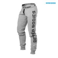 B755 Slim sweatpant, greymelange