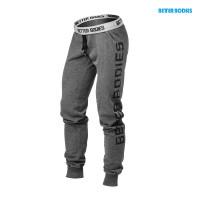 B755 Slim sweatpant, antracite melange