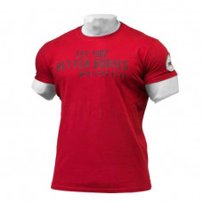 B731 GRAPHIC LOGO TEE,JESTER RED