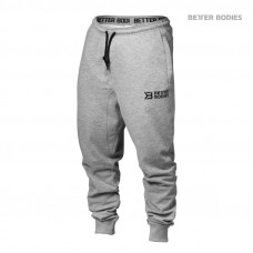 B808 TAPERED SWEATPANT, GREY MELANGE