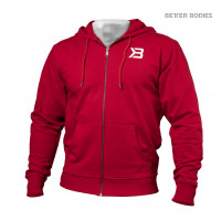 B816 JERSEY HOODIE, Bright red