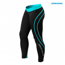 B712 Athlete tights Black / Aqua