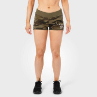 B781 Rough sweatshorts, Dark green camo