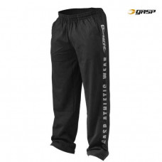 G048 JERSEY TRAINING PANT BLACK