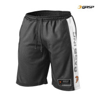 G589 NO1 MESH SHORTS BLACK/WHITE