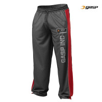 G593 NO1 MESH PANT, BLACK/RED