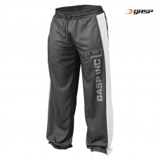 G593 NO1 MESH PANT, BLACK/WHITE