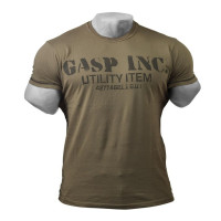 G606 BASIC UTILITY TEE, WASHED GREEN