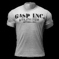 G606 BASIC UTILITY TEE, GREYMELANGE
