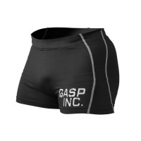 G640 GASP SHORT TIGHTS. BLACK