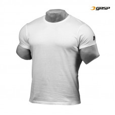 G745 GASP JERSEY TEE,WHITE