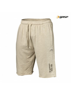 G753 THROWBACK SWEATSHORTS CEMENT
