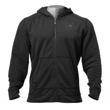 G830 Annex zip hood Wash black