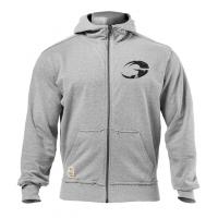 G857 Original hoodie,Greymelange