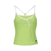 B557 Sunset Tank Apple green