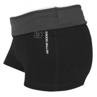 B575 Santarosa Hot Short Black-shalegrey