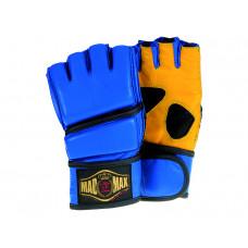 Full Contact kesztyü Bőr kék/sárga