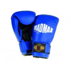 Boxkesztyű syntetic kék/fekete